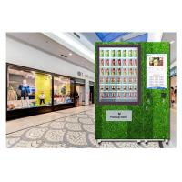 Buy cheap Automatic Self Service Fruit Vegetables Salad Vending Machine With Belt Conveyor from wholesalers