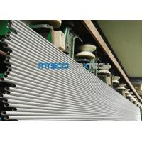 Cheap 14 / 16 / 18SWG UNS S32750 F53 Duplex Stainless Steel Tube For Heat Exchanger wholesale