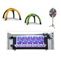 China 3.2m Multi Color Flag Fabric Plotter Banner Sublimation Plotter With Piezo Inkjet on sale