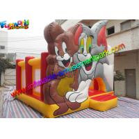 Amazing Tom And Jerry Commercial Bouncy Castles Inflatable Jumping House Water -