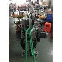 CE Bottle Label Applicator , Wine Bottle Labeling Machine Servo Motors Driving