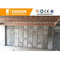 Non Asbestos Sandwich Wall Panels , Interior Wall Partition Panel