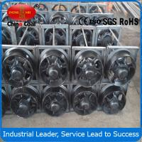 Cheap 1-25tons Cast steel mine car wheel sets , wheel sets for track transporting wholesale