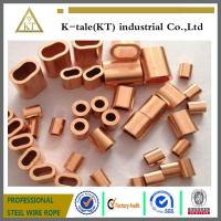 Buy cheap COPPER WIRE ROPE FERRULES from wholesalers