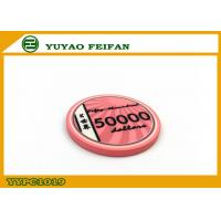 Cheap Vivid Pink Scroll Ceramic Poker Chips Heavy European Poker Chips wholesale