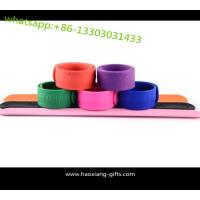 Cheap high quality professional simple slap wristband with China shipping service to world wholesale