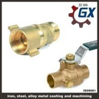 Cheap Cast NPT Full Port Private Label on Handle Male Thread Brass Ball Valve wholesale