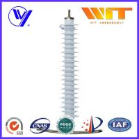 Safety Polymeric Transmission Line Surge Arrester With External Series Gaps
