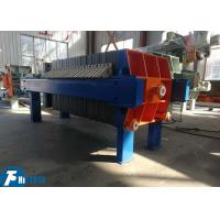 Cheap Automatic Dewatering Filter Press Equipment 30m2 Filter Area For Food Industries wholesale
