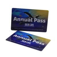 Cheap HF 13.56mhz Full Color Plastic Mifare RFID Smart Card ISO14443A Standard wholesale