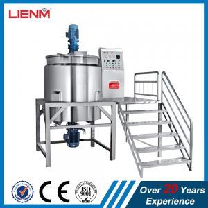 Cheap Automatic Electric Heating Detergent Mixing Machine,Shampoo Blending Tank,Liquid Soap Making Machine production line wholesale