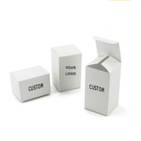 Cheap Customized Product Packaging Small White Box Packaging,Plain White Paper Box,White Cardboard Box wholesale