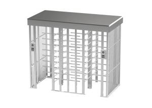 Cheap 500mm Arm SUS304 40W Full Height Turnstile Gate Double Passage wholesale