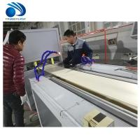Cheap High Speed Pe Pe Extruder Machine , Wood Floor Vc Profile Extrusion Line wholesale