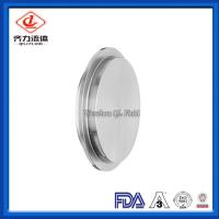 Cheap High Strength  Sanitary Clamp Fittings Equal Shape Solid End Cap 16AI-14I wholesale
