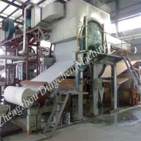 Cheap 2400mm high speed tissue paper machine, tissue machine wholesale