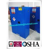 China Hazardous Waste Storage Cabinets For Laboratory , Paint Industry Safety Cabinets For Inks on sale