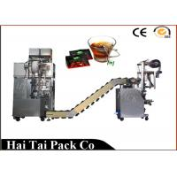 Cheap Automatic Filling Function Herbs Tea Packaging Machine Triangle Dimensional wholesale