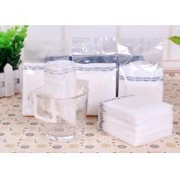 Cheap Narrow Single Serve Iced Coffee Filter Bag White Color With Food Grade Material wholesale
