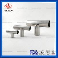 Cheap Sanitary Elbow Pipe Fittings  Equal Tee  With Matt Mirror Polished wholesale