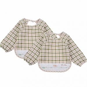 Cheap Soft Absorbent Baby Bandana Bib , 100% Organic Cotton Baby Coverall Bib wholesale