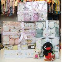 Cheap Dyeing Machine washable New Born Baby Girl Shower Gift Sets With Baby Clothing wholesale