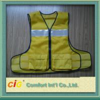 Polyester High-Visibility Reflective Safety Vests Clohting with EN20471 & CE Standard