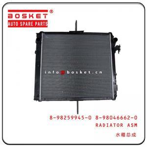 Cheap 4HK1 Isuzu NPR Parts Radiator Assembly 8-98259945-0 8-98046662-0 8982599450 8980466620 wholesale