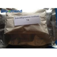 Cheap Good Quality Of T4 L-Thyroxine Anabolic Steroids Raw Powder For Bodybuilding Enhancement Cas 51-48-9 wholesale