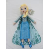 Cheap Blue Frozen Elsa Plush Doll Disney Princess Toys in 40cm 50cm Size wholesale