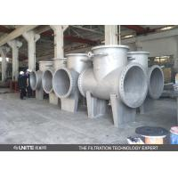 Buy cheap Flange connection T filter High quality industrial T type filter from wholesalers