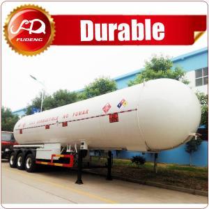 Cheap ASME standard 3 axle LPG tank trailer, 56000L LPG gas trailer wholesale