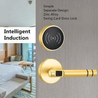 China Electronic RFID Hotel Lock Intelligent Induction Type With Separate Design on sale