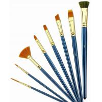 Cheap Customized Logo 4 Inch Artist Painting Brushes Liner Brushes For Oil Painting wholesale