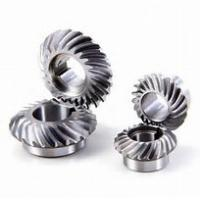 Cheap 80mm Diameter Spiral Bevel Gear , Small Bevel Gears For Automations Smooth Operation wholesale