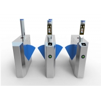 Buy cheap Retractable 0.2s RS485 SS304 Access Control Wing Gate from wholesalers