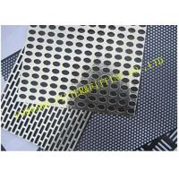 Buy cheap Fancy Perforated Metal Pipe Plate Hole Pattern Options ASTM SERIES from wholesalers
