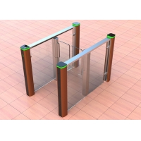 Cheap 150mm Width IP45 Automatic Swing Arm Turnstile Gates wholesale