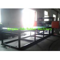 Cheap PLC control rubber pipe cutting machine to cut 1 - 12 pipes per time wholesale