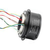 Cheap 8 Circuits Slip Ring Solutions High Temperature Resistant Aluminum Alloy Materials wholesale