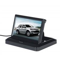 Cheap 5'' Foldable Car Rear View Monitor Compact Structure Easy Installation wholesale