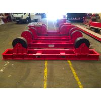 Buy cheap Economic Capacity 30 Tons Pipe Rotator Welding Use Polyurethane Material Wheels from wholesalers
