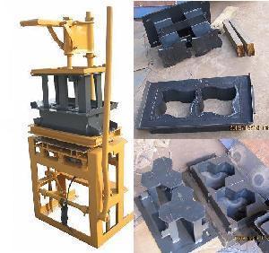 Cheap Paver Block Machine for Interlocking Concrete Bricks (BM1-3E) wholesale