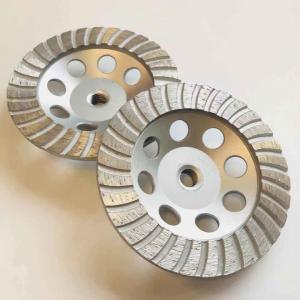 Cheap 125mm M14 Ridgid SinteredConcrete Grinding Wheel For  Rough Surfaces wholesale