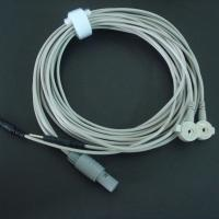 Cheap Tens units electrode wire with special snap&pin/ tens lead wire used for electrode pads  wholesale