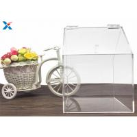 Cheap Modern Clear Acrylic Packaging Box Candy House Shape For Retail Stores wholesale