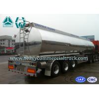Anti Caustic Oil Saving Fuel Tank Semi Trailer ADR DOT Standard