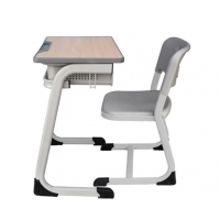 Cheap School Furniture Small Student Desk And Chair Child Reading Table With Drawer wholesale