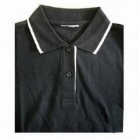 Cheap Polo Shirt for Women, Made of 100% Cotton wholesale