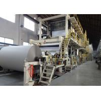 Cheap 4200mm Test Liner Paper Making Machine Full Line Paper Mill Equipment wholesale